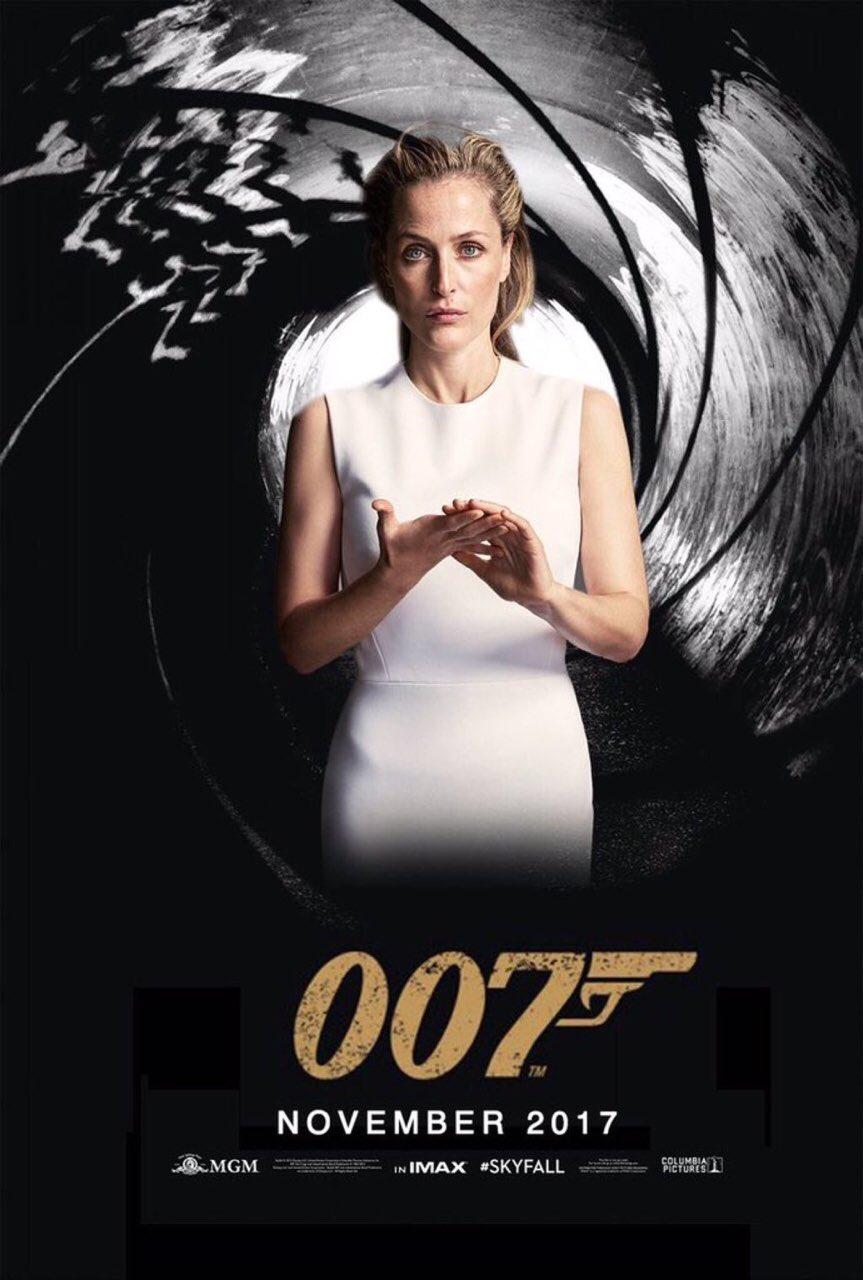 Gillian Anderson jako Jane Bond