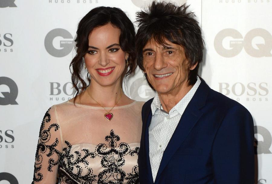 Ronnie Wood i Sally Humphreys mają dwie córeczki