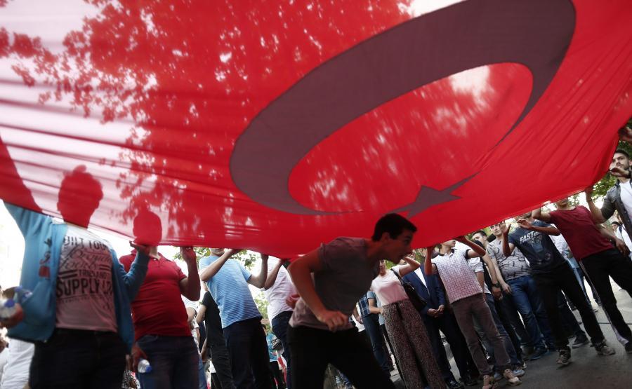 Protesty na ulicach Stambułu