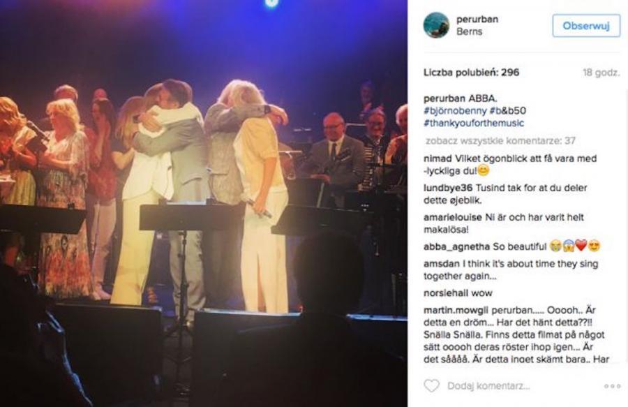 Zespół ABBA wystąpił na prywatnej imprezie