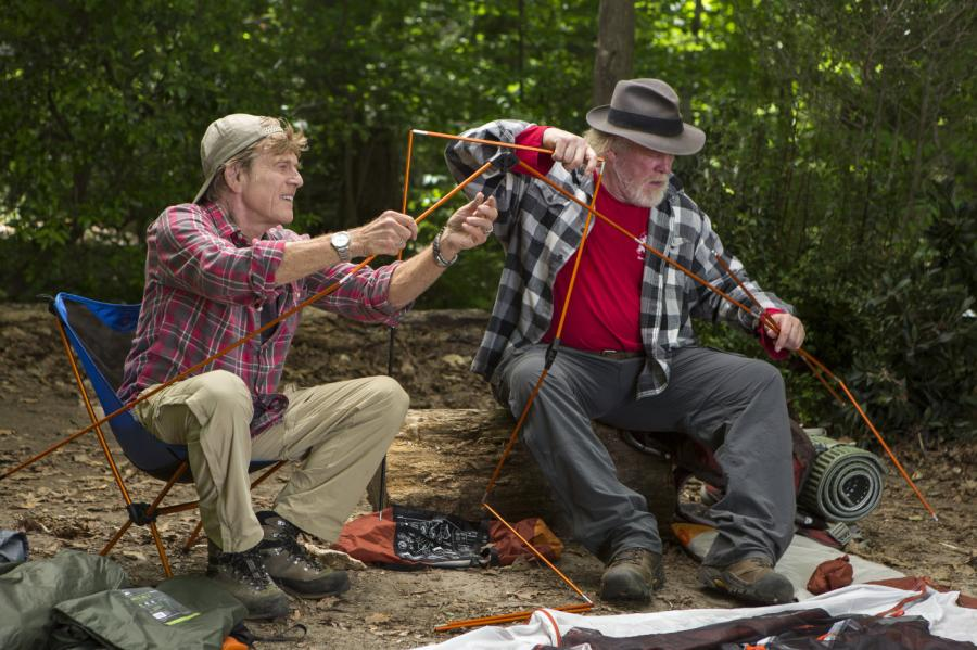 Robert Redford i Nick Nolte ruszyli w Appalachy