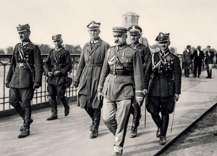 """""""Warszawa lata 20."""": Józef Piłsudski"""