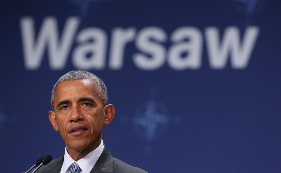 Barack Obama na szczycie NATO w Warszawie