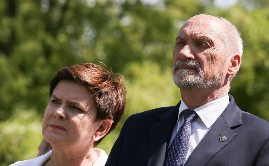 Wiceszefowie PiS: Beata Szydło i Antoni Macierewicz