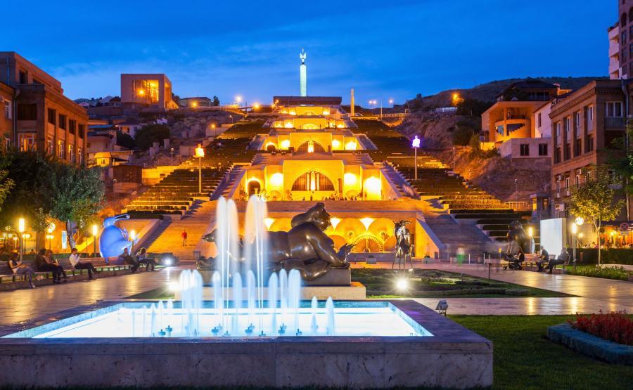 stolica Armenii. Erywań