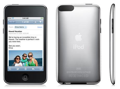 Apple prezentuje swoje nowe iPody