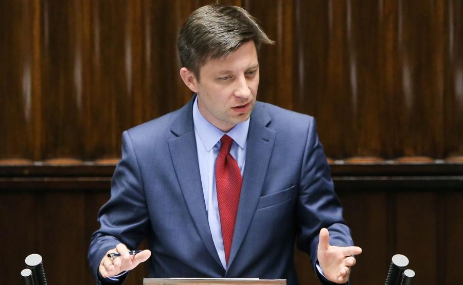 Poseł PiS Michał Dworczyk