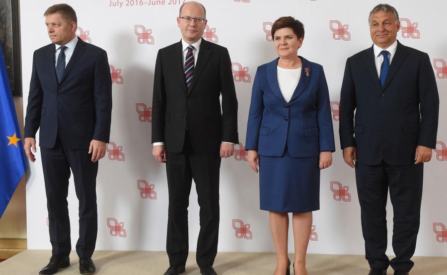 Premierzy państwa Grupy Wyszehradzkiej