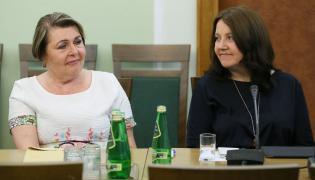 Elżbieta Więcławska-Sauk i Joanna Lichocka