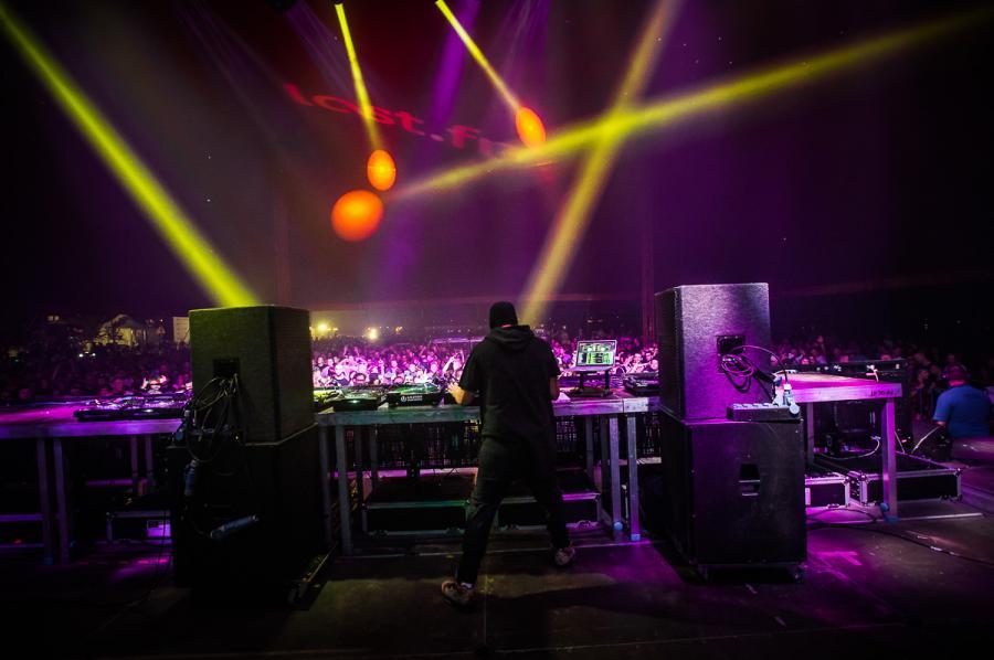 Jaguar Skills na festiwalu Audioriver 2016 / fot. Audioriver