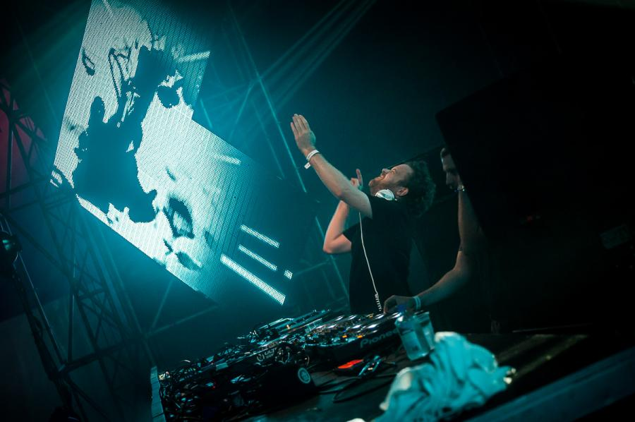 Caspa & Rusko na festiwalu Audioriver 2016 / fot. Audioriver