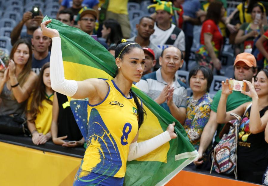 Piękna Jaqueline zalała się łzami. Brazylijskie siatkarki nie zdobędą medalu w Rio de Janeiro