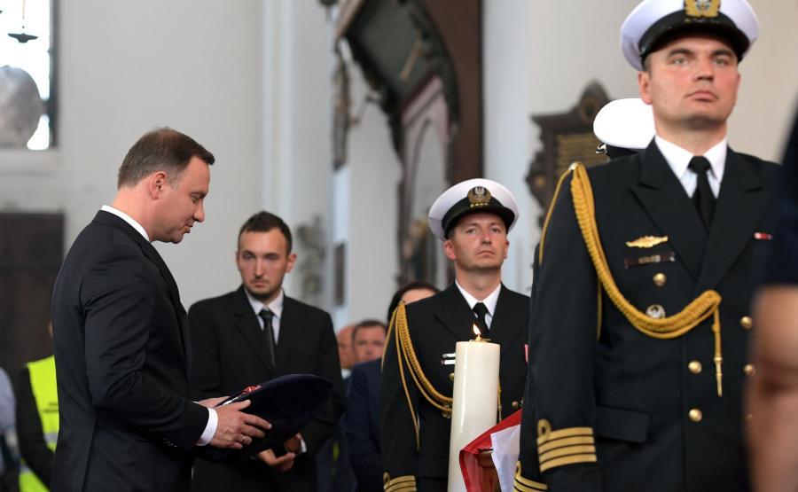 Prezydent na pogrzebie Inki