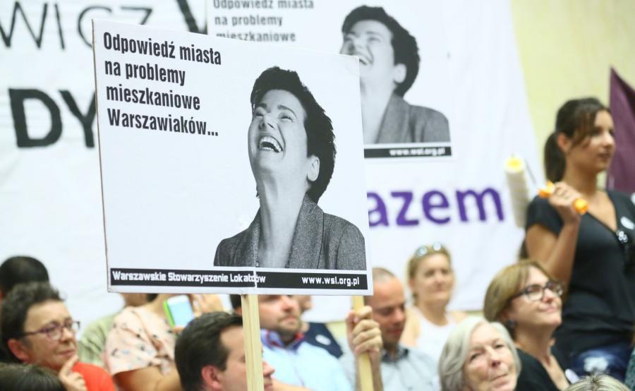 Burzliwa sesja Rady Warszawy