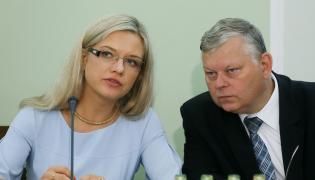 Małgorzata Wassermann i Marek Suski