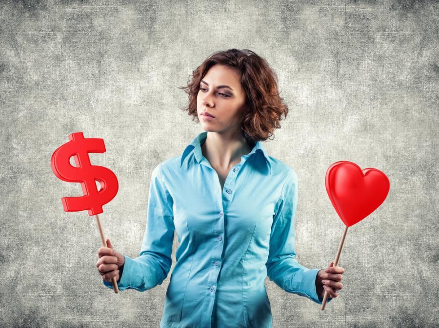 Pieniądze czy miłość?