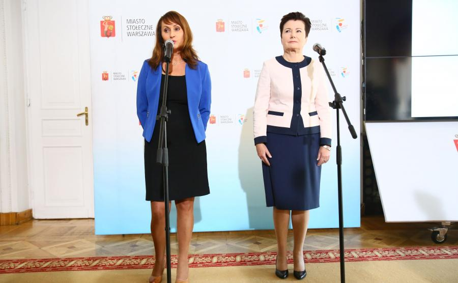 Renata Kaznowska, nowa wiceprezydent Warszawy