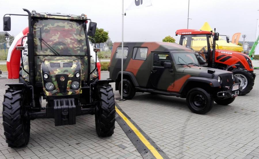 Militarny traktor Ursusa i Storm 3
