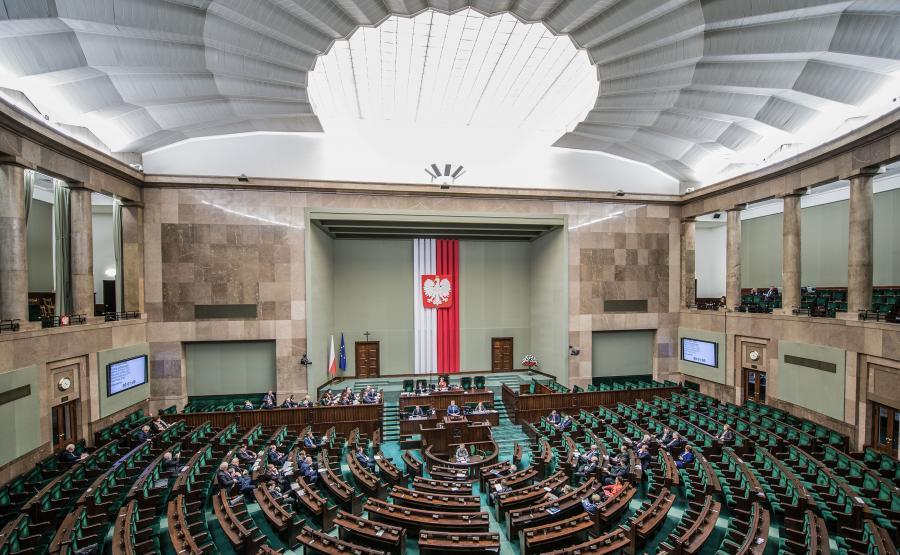 Sejm. Sala posiedzeń