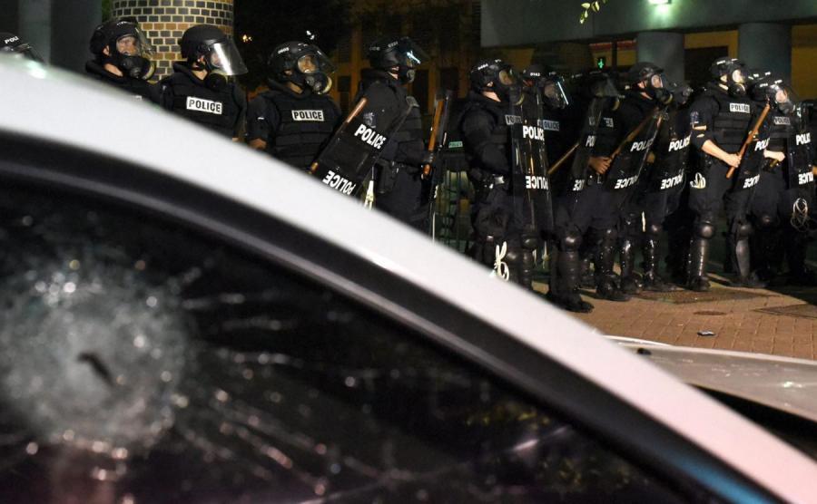 Zamieszki w Charlotte