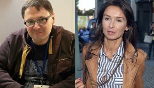 Tomasz Terlikowski i Marta Kaczyńska