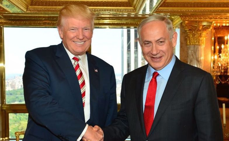 Donald Trump i premier Izraela Benjamin Netanyahu