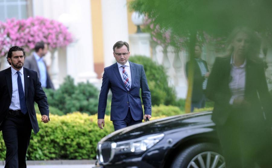 Zbigniew Ziobro - minister sprawiedliwości
