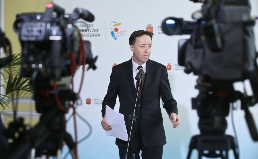 Wiceprezydent Warszawy Witold Pahl odpowiedzialny za reprywatyzację