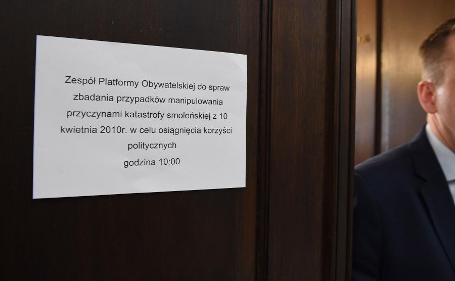 Platfroma powołała zespół parlamentarny PO ds. katastrofy smoleńskiej