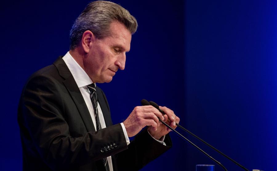Komisarz UE Guenther Oettinger