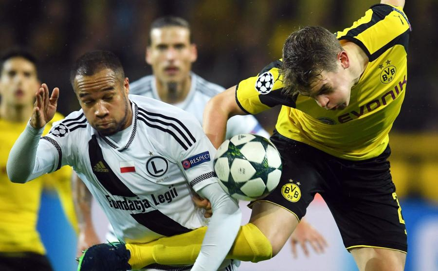 Legia gra z Borussią Dortmund
