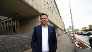 Biznesmen Marek Falenta przed Sądem Okręgowym w Warszawie