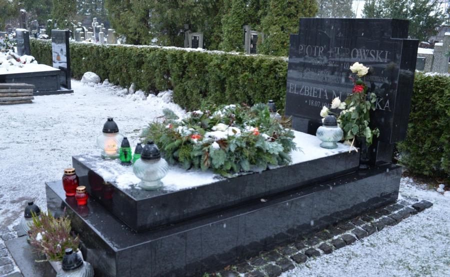 Grób Piotra Nurowskiego na Cmentarzu Wojskowym na warszawskich Powązkach