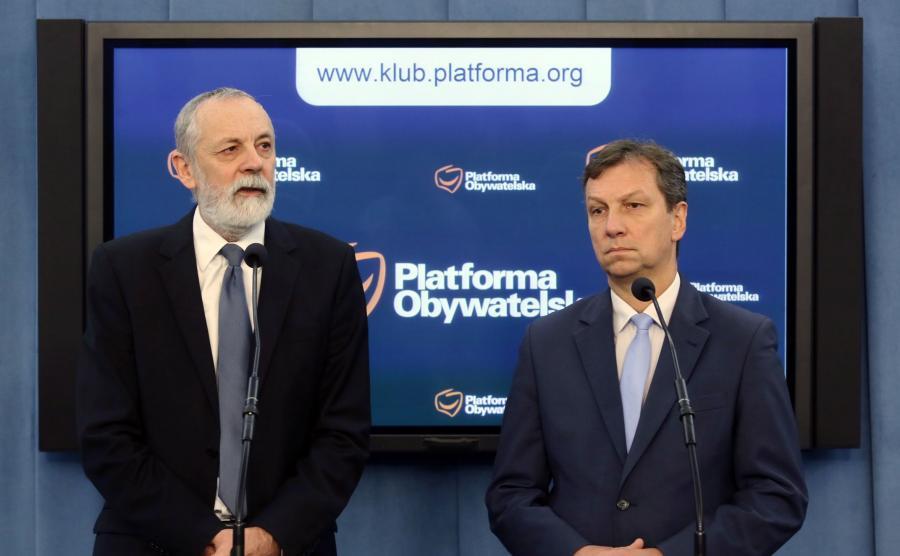 Rafał Grupiński i Andrzej Halicki