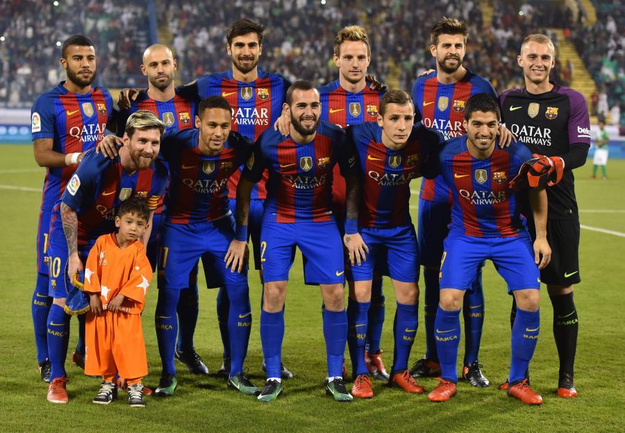 Murtuza Ahmadi i piłkarze Barcelony