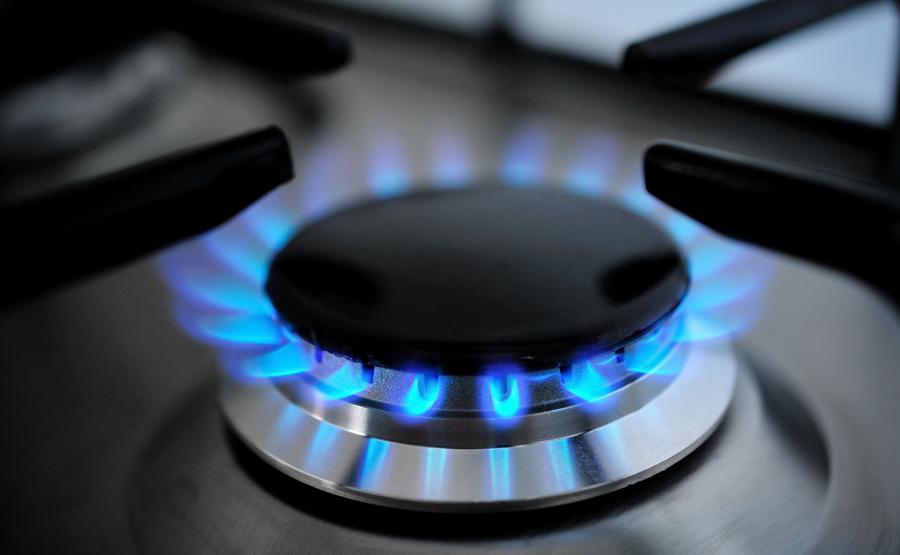 Palnik gazowy w kuchni