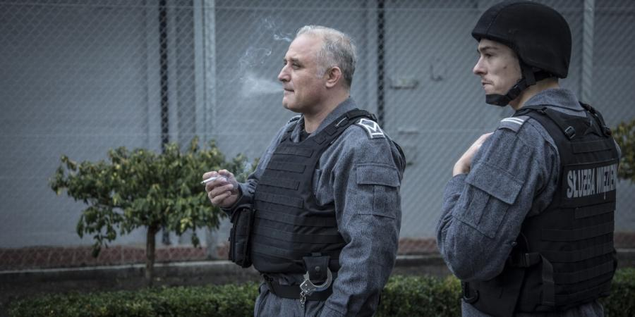 """Przemysław Bluszcz oraz Tomasz Ziętek w filmie """"Konwój"""". Premiera 13 stycznia 2017 roku."""