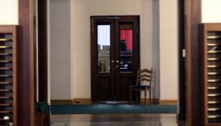 Wejście na salę plenarną Sejmu
