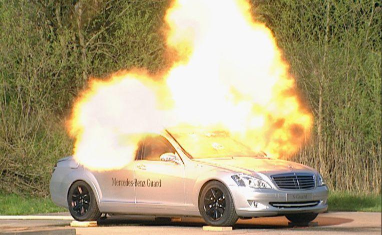 Tak wyglądają testy pancernych Mercedesów