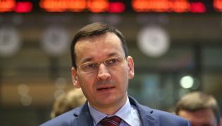 wicepremier MAteusz Morawiecki z wizytą w budynku GPW