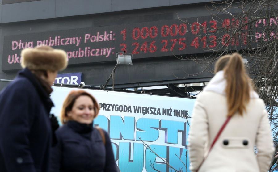 Licznik długu w Warszawie
