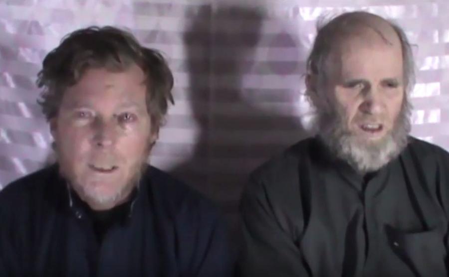 Porwani przez talibów naukowcy Kevin King Timothy Weeks