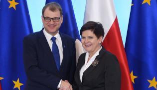 Beata Szydło, Juha Sipila