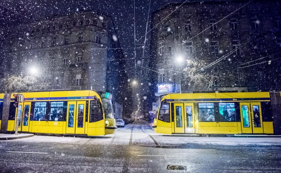 Atak zimy na Węgrzech