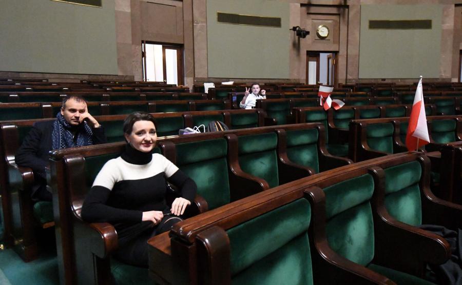 Protest opozycji w Sejmie