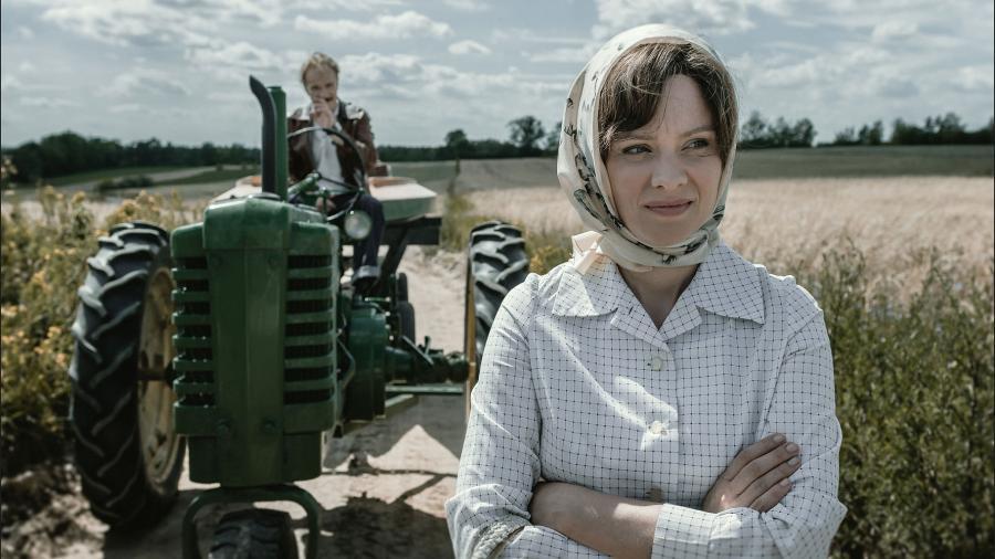 Magdalena Boczarska oraz Eryk Lubos w filmie \