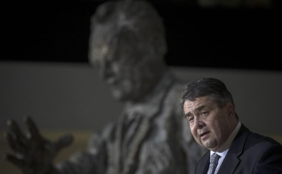 Przewodniczący SPD Sigmar Gabriel