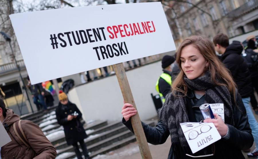 Protest studentów