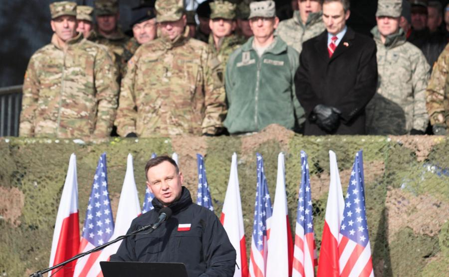 Prezydent w Żaganiu