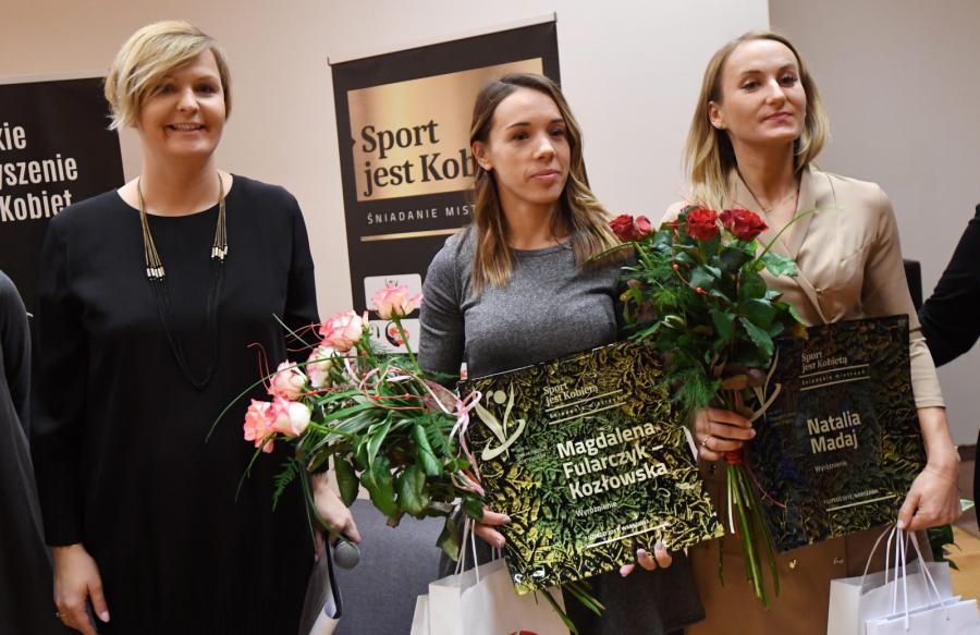 """""""Sport jest kobietą"""". Nasze mistrzynie sptkały się na śniadaniu"""